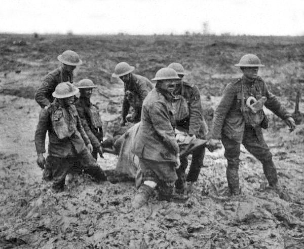 Stretcher Bearers at Passchendaele